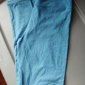 LuLaRoe leggings OS. Blue